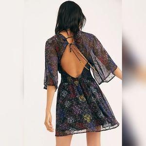 NWT Free People Ana Mini Dress